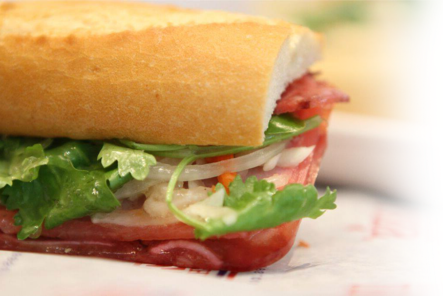 Picture of a sandwich