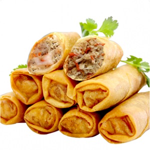 Stacked Egg Rolls