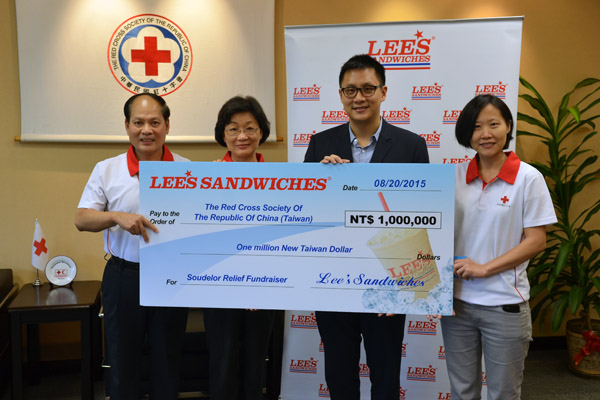 Lee's Sandwiches donates 1 million for relief operations