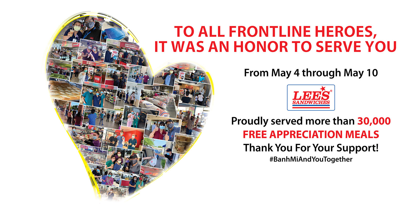 Thank you Frontline Heroes – Link to Blog