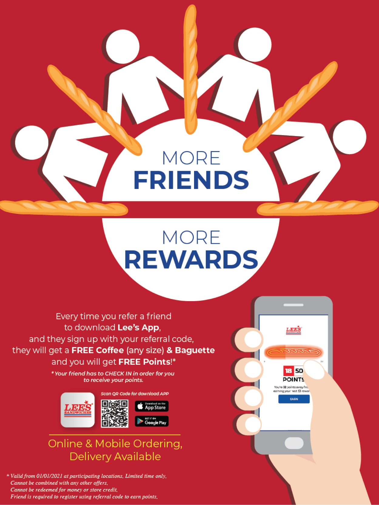 Refer more friends, get more rewards! From 1.1.2021