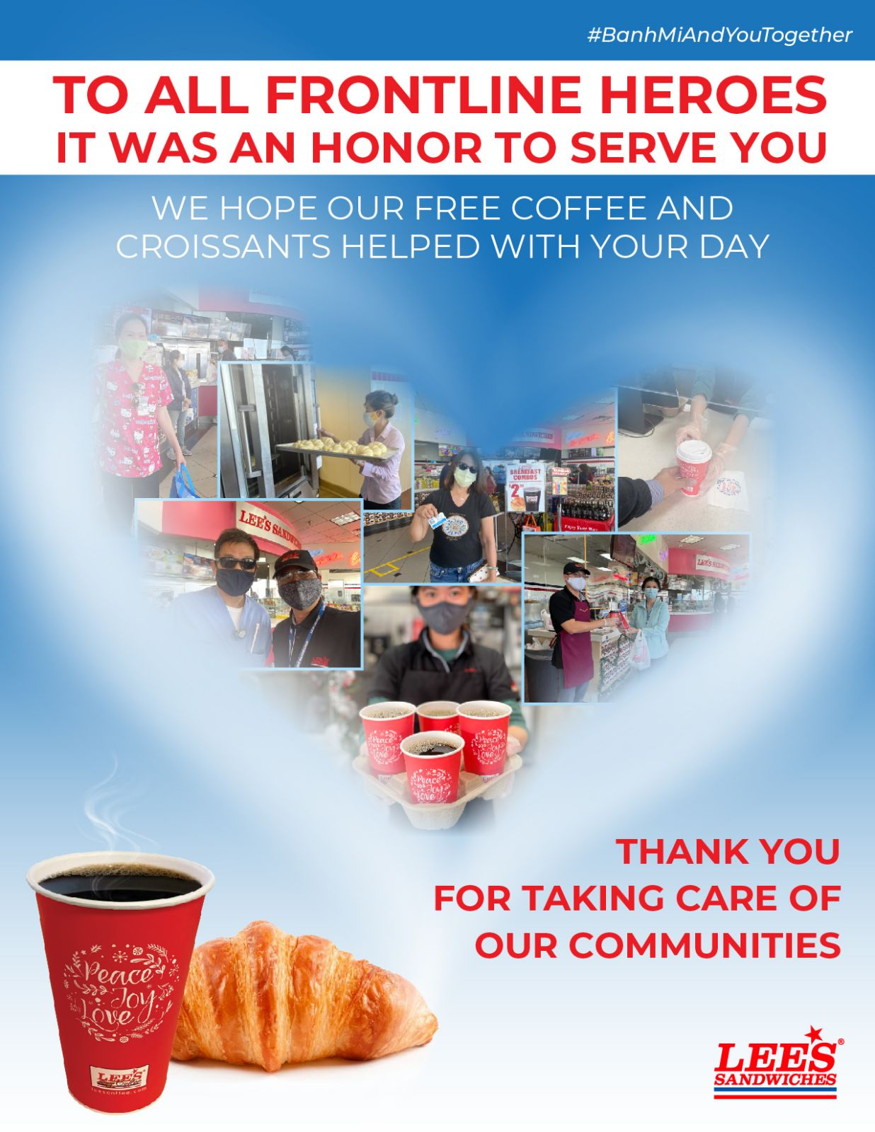 To all Frontline Heroes, it was an honor to serve you!