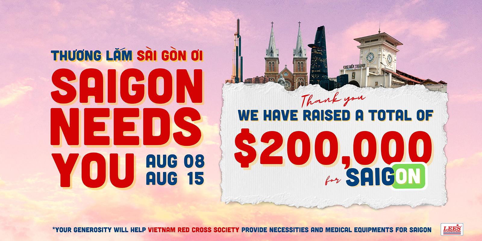 Saigon Needs You